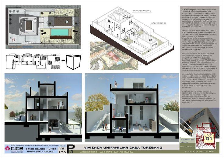 Casa Turegano 00 | Campo Baeza por David Ibañez http://dibandimension.blogspot.com.es/