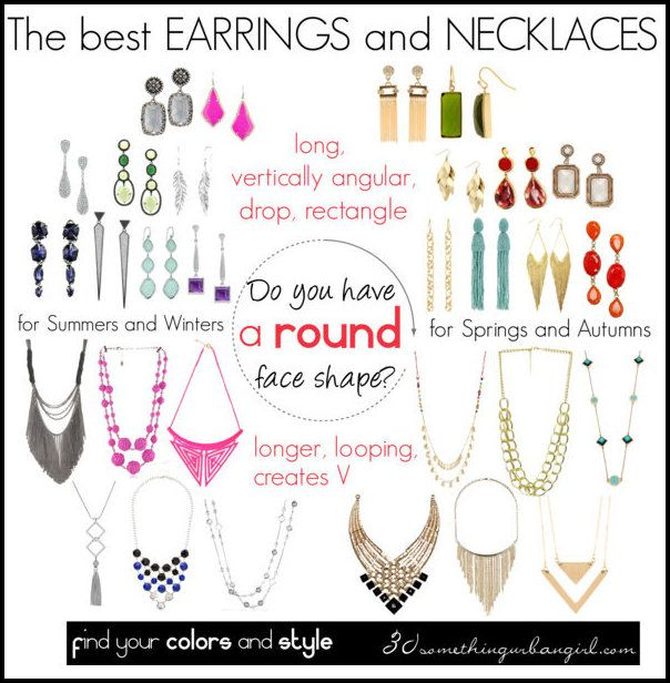 Round face shapes: The best earrings, necklaces and sunglass shapes for round face shape