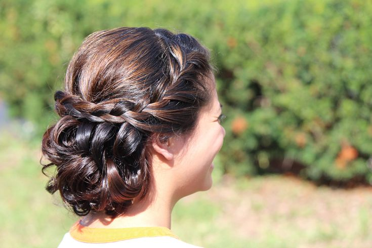 #Hair #Braids | On SMP - http://www.StyleMePretty.com/iowa-weddings/2014/01/04/style-me-pretty-midwest-welcomes-our-advertisers/ Style Onsite