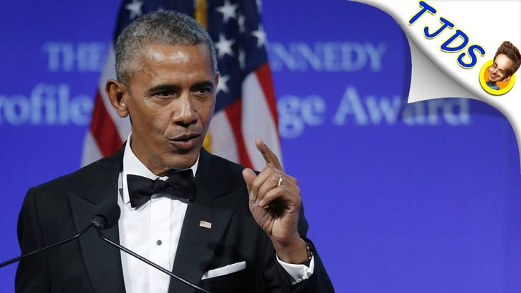 Obama Accepts Courage Award With Straight Face