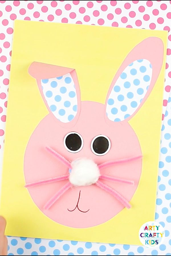 Paper Easter Bunny Craft
