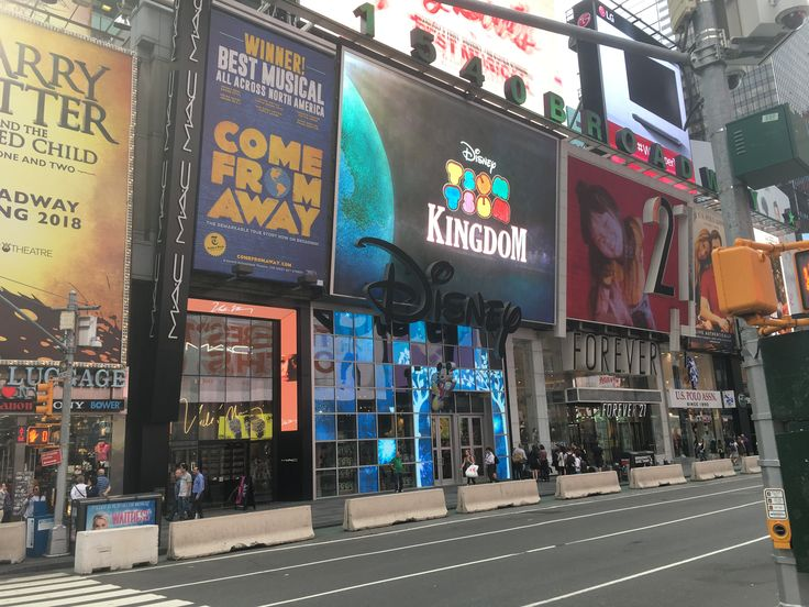 Disney store st Times Square New York City