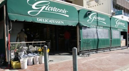 Giovanni's in Seapoint - the best deli in the Cape!  You can even get Beaconsfield sheep milk products from the Karoo there...