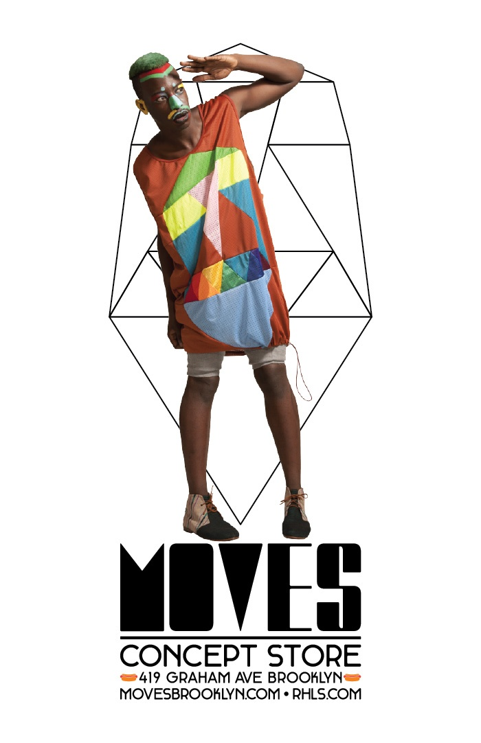 MOVES poster S/S 2012Picture-Black Posters, Posters S S, Posters Ss, Concept Stores, Moving Posters, Moving Concept