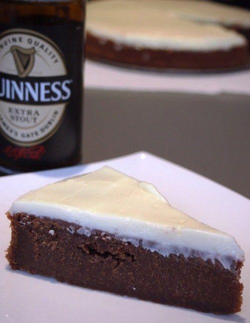 Jetzt wird's irisch: Es gibt Guinness-Schoko-Kuchen - Schokohimmel