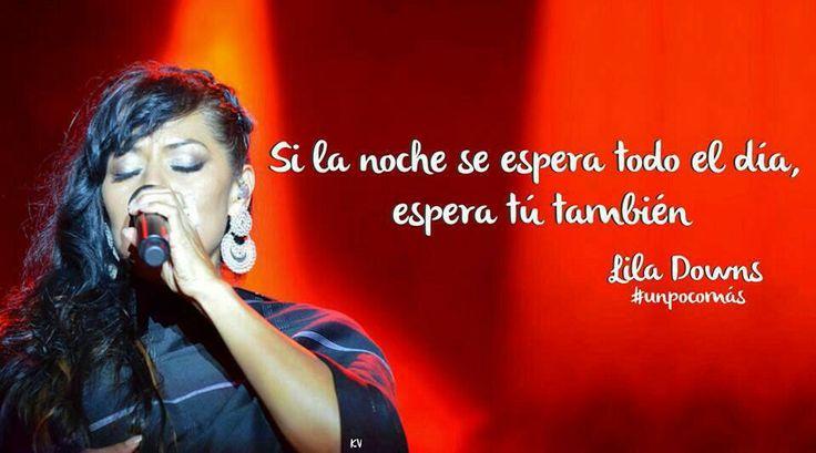 Lila Downs.
