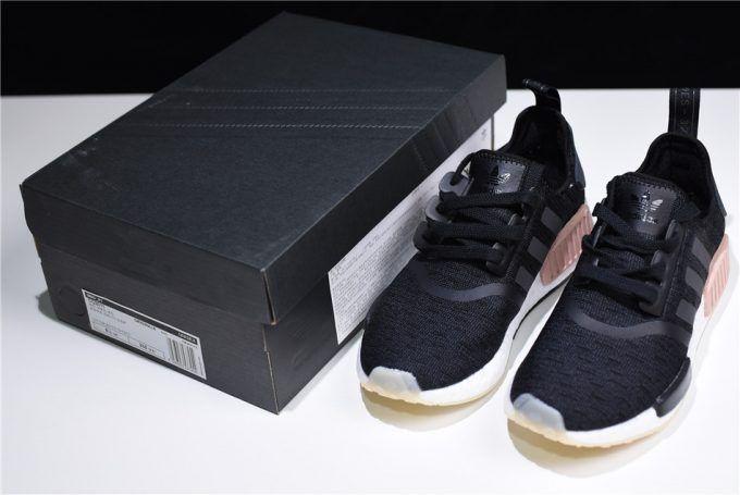 """7e6abf28eb4a3 Adidas NMD R1 """"Chalk Pearl"""" Core Black Noble Indigo-White CQ2011 ..."""