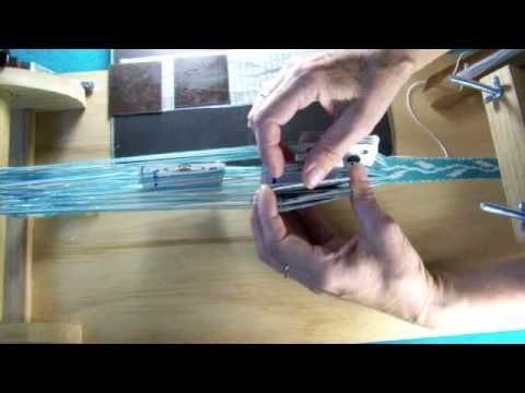 ▶ card weaving- how the cards turn (I love all her little tricks for remember where she is)