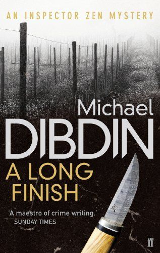 A Long Finish by Michael Dibdin, http://www.amazon.co.uk/dp/B004INGZFO/ref=cm_sw_r_pi_dp_LIATtb1W2S7WX