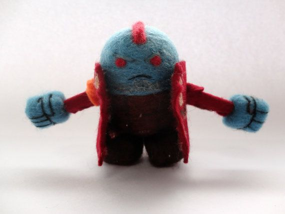 Yondu Udonta  Guardians of the Galaxy: 8 cm. / by WoollyWonkers