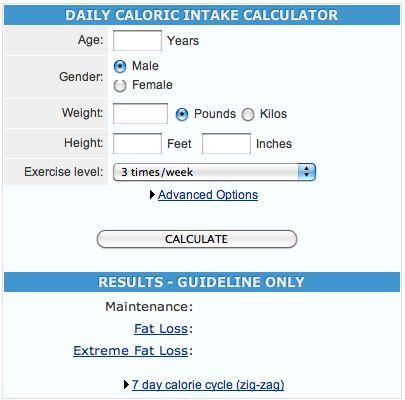 Macro/Calorie Calculator
