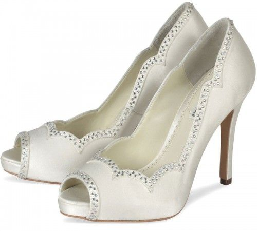 ivory-satin-wedding-shoes style