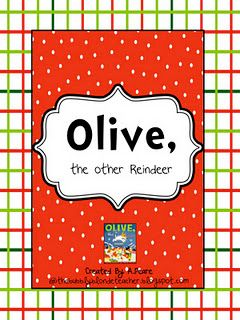 Olive, the other Reindeer Freebie:)  @Callie Smith  I miss you!!! Every time I listen to Harry Connick with the Santa hats I get tickled ;)