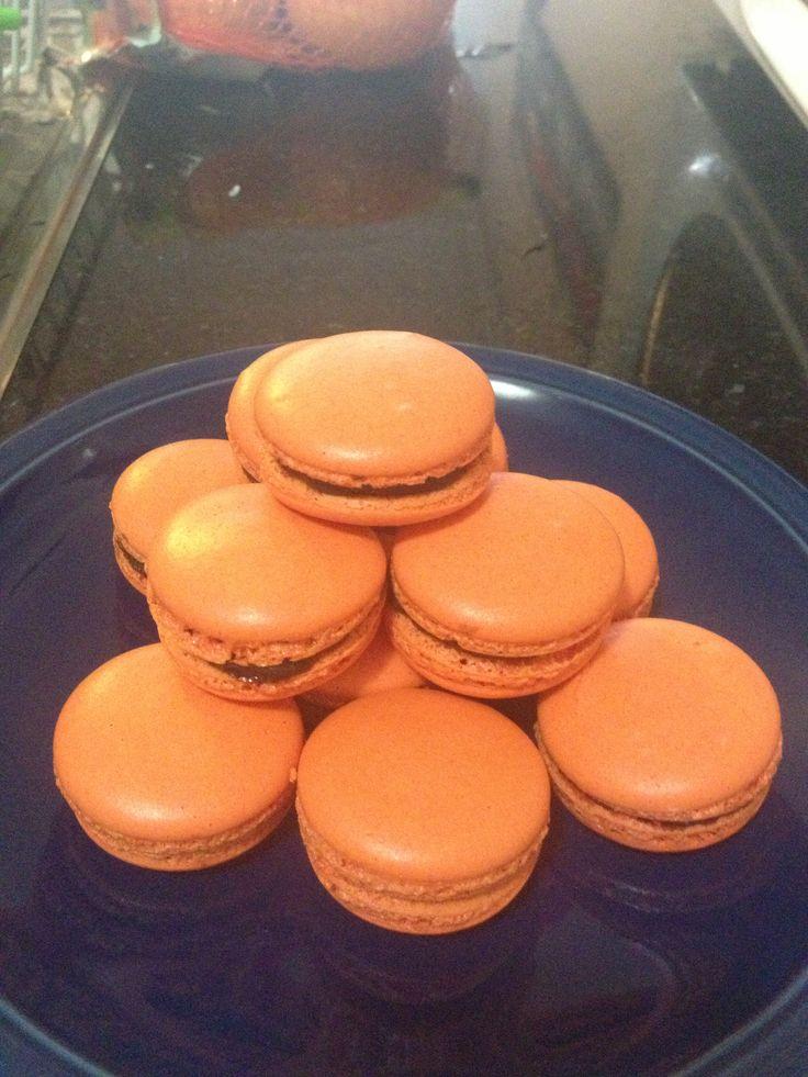 Chocolate heaven macarons