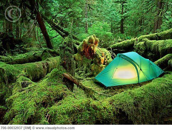 Camping Queen Charlotte Islands British Columbia, Canada #GILoveBC