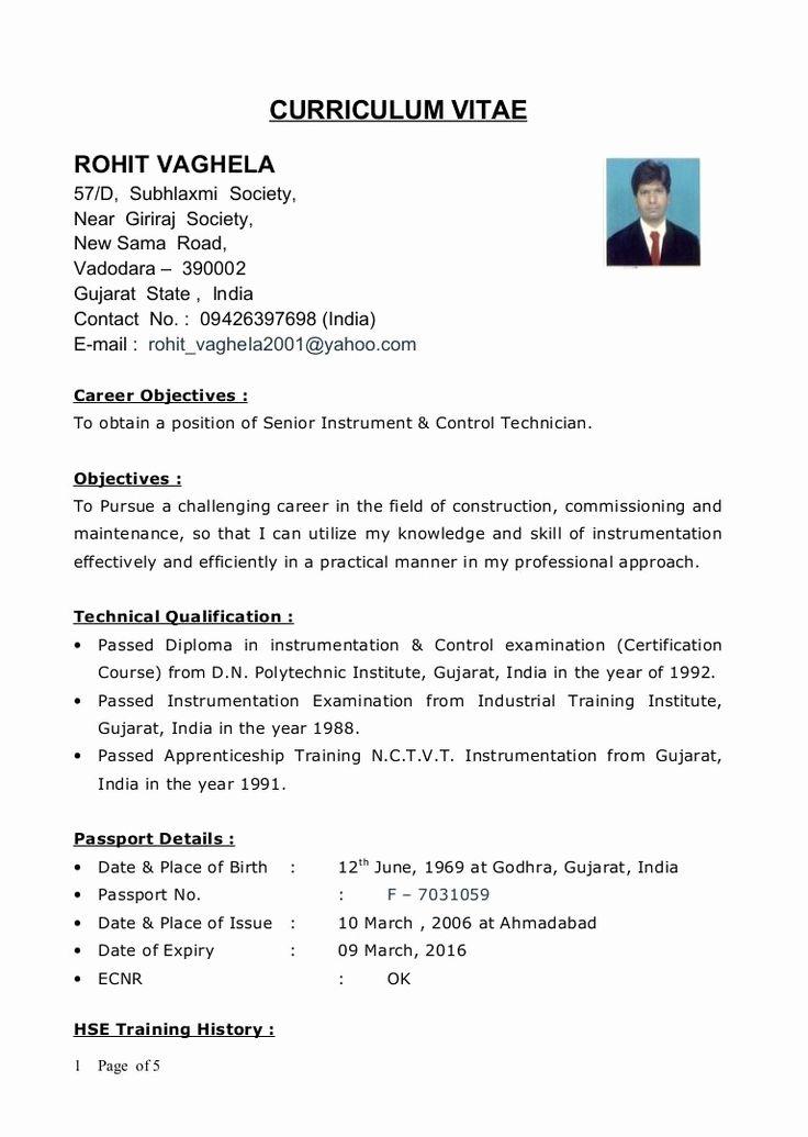 Resume format diploma mechanical engineering engineering