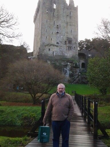 A really cold day late DECEMBER to visit yhe BLARNEY STONE AND CASTLE!!
