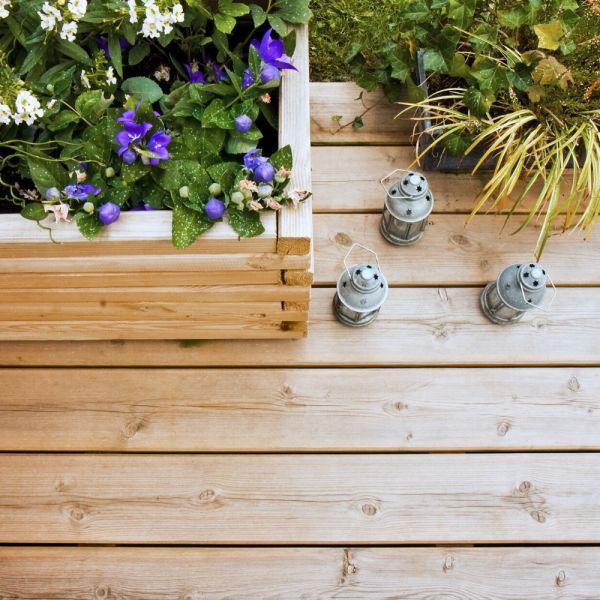 Terrasse En Bois Glissante Comment La Rendre Antiderapante En 2020 Terrasse Bois Terrasse Nettoyer Terrasse