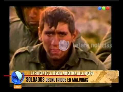 Soldados desnutridos en Malvinas y un reencuentro conmovedor - Telefe Noticias - YouTube