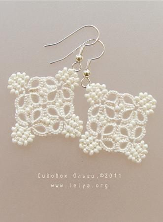 Some amazing tatted earrings on this website...