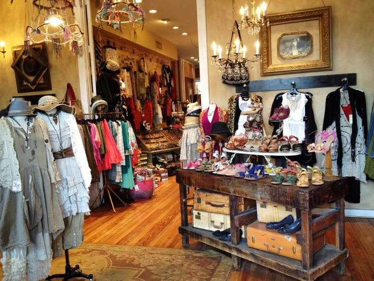 Clothing Store Decor Ideas