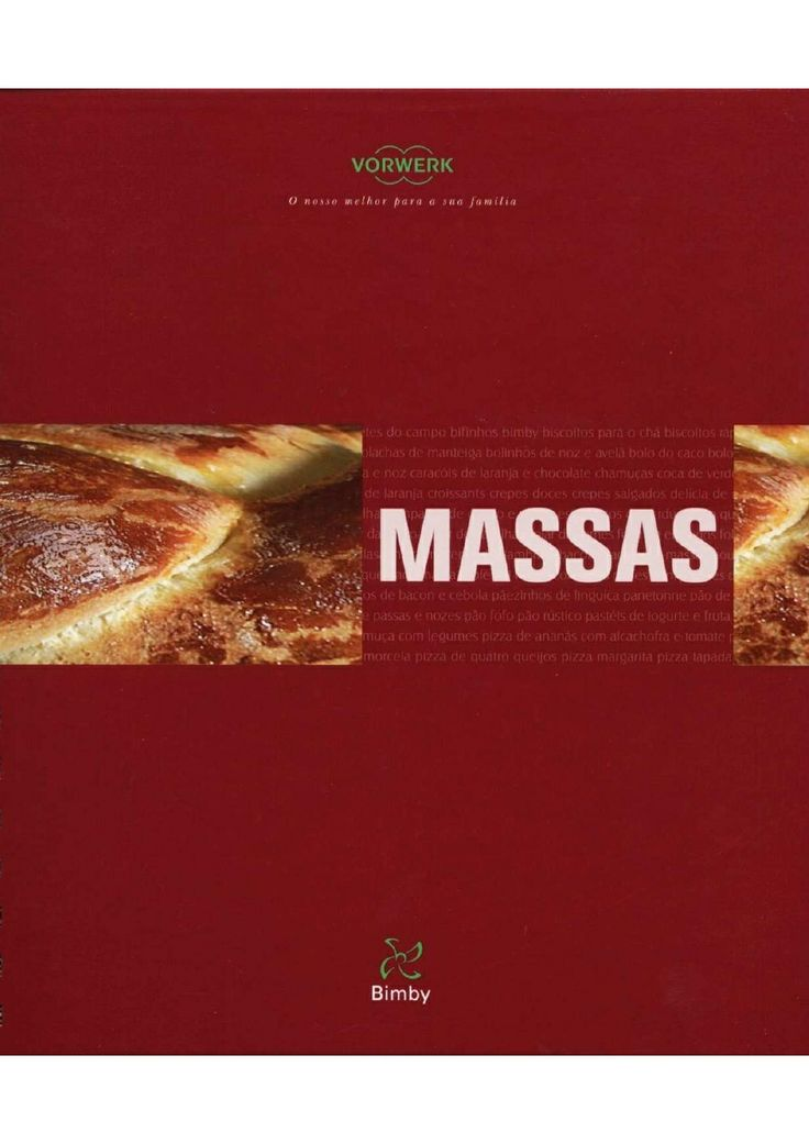 Livro Bimby - Massas