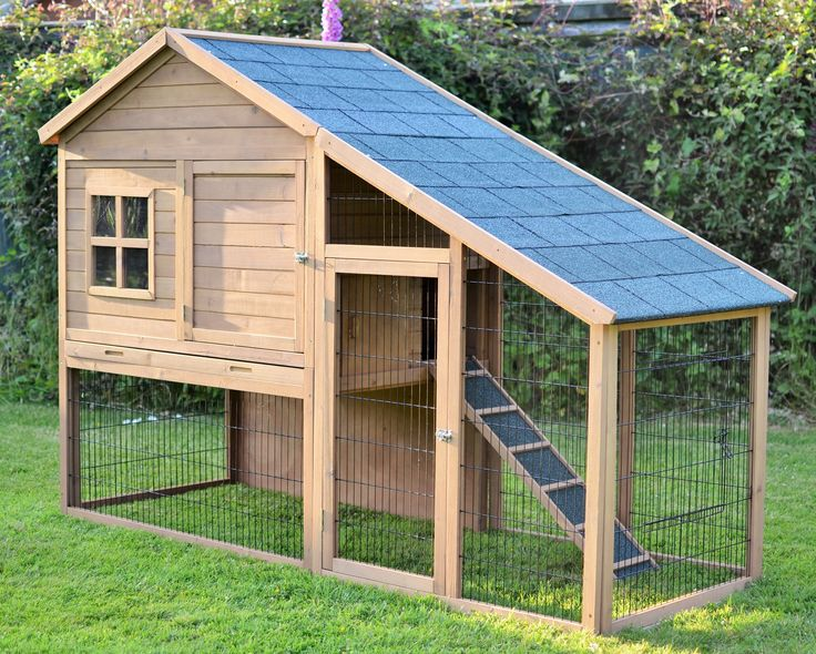 The Villa 7ft Extra Large Rabbit Hutch - All Hutches - Outdoor Rabbit Hutches