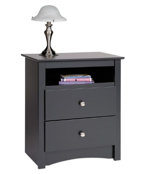 Sonoma 2-Drawer Tall Nightstand - Nightstands at Hayneedle