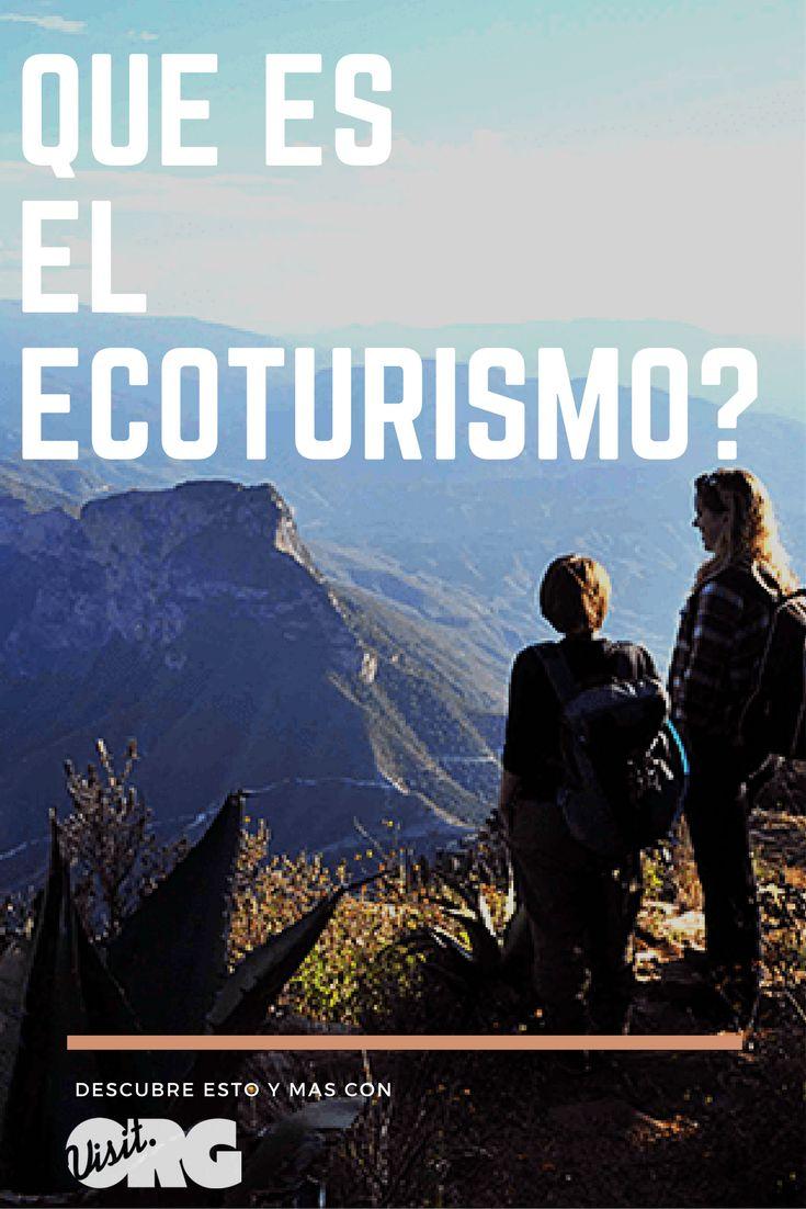 Muchos saben que el ecoturismo tiene que ver con la conservación del medio ambiente y sus recursos, pero no todos saben lo accesible que es en verdad...