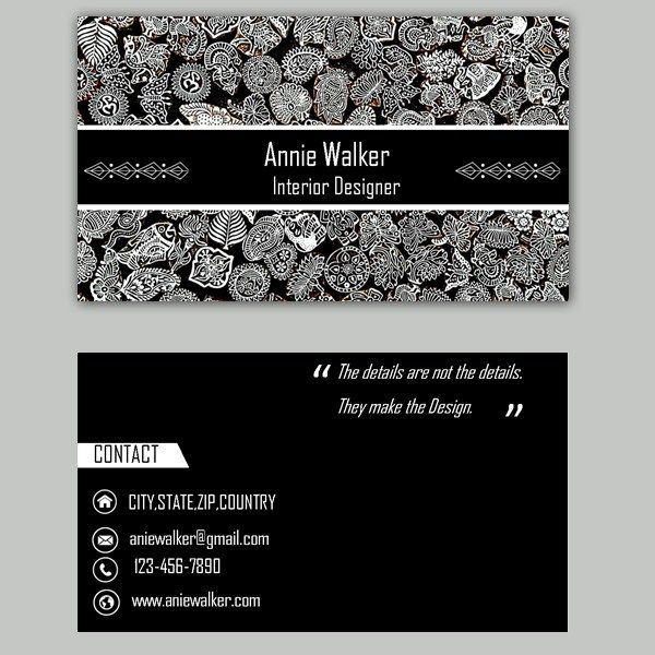 22 best business card template images on pinterest business card microsoft publisher interior design business card template reheart Image collections