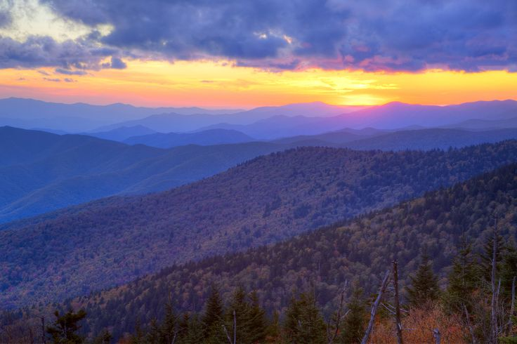 The Great Smoky Mountains The Beautiful Smoky Mountains