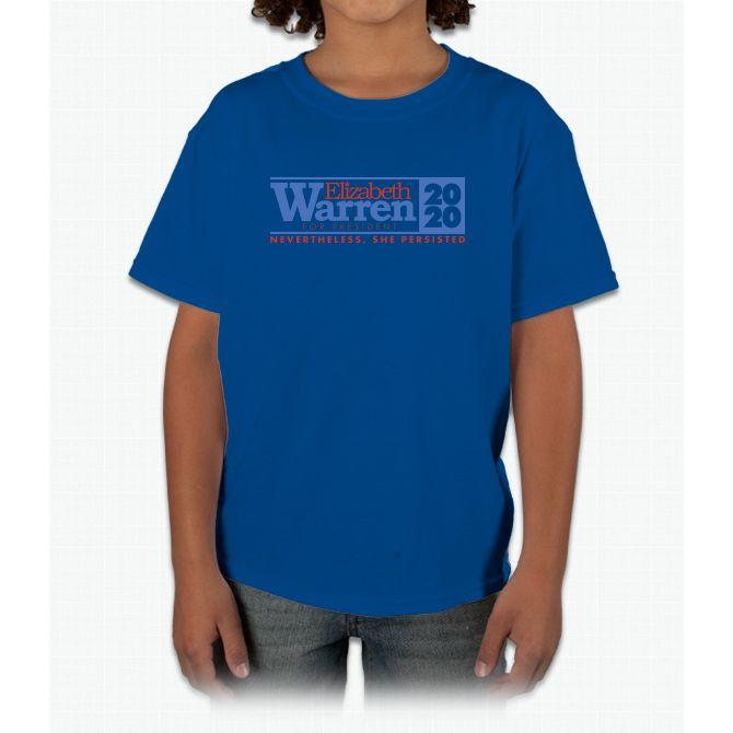 Elizabeth Warren 2020 Young T-Shirt