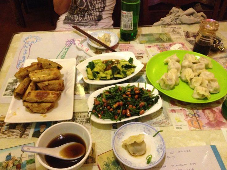 Mr. Shi dumplings, Baochao hutong, Beijing