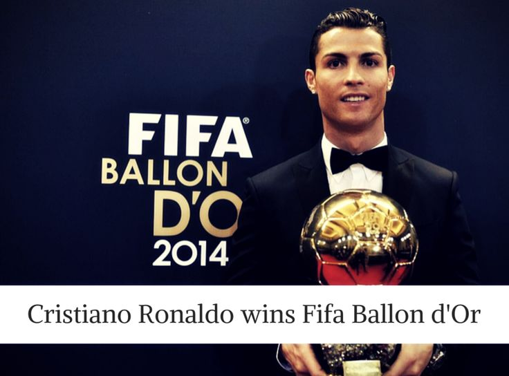 #Real #Madrid attacker #Cristiano #Ronaldo has won the 2014 Fifa Ballon d'Or ahead of Bayern Munich goalkeeper Manuel Neuer and Barcelona forward Lionel #Messi,