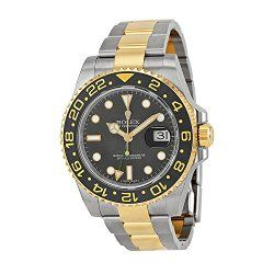 Rolex GMT-Master II Black Automatic stainless steel and 18kt yellow gold Mens Watch116713BKSO