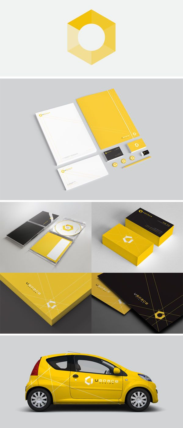 U-Space Design - Corporate Identity by Triptic