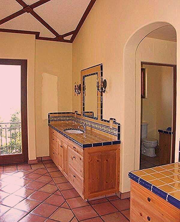Pin On Spanish Style Bathrooms