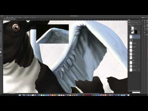 Rendering the Holy Cow