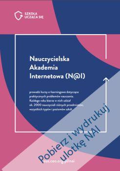 Nauczycielska Akademia Internetowa (N@I) oferuje kursy dotyczące praktycznych…