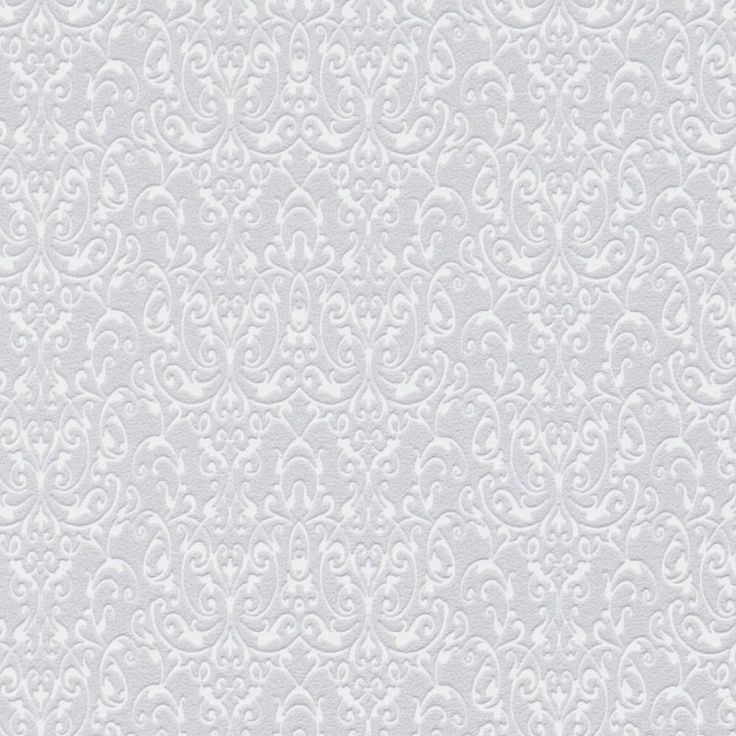 lilac swirled wallpaper - Contemporary Damask Wallpaper