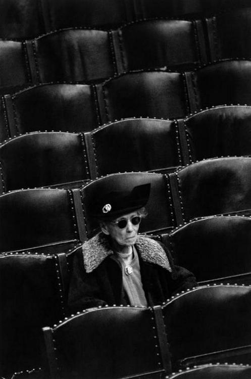 Photo by Constantine Manos - The Boston Symphony Orchestra. Boston, Massachusetts. 1958.