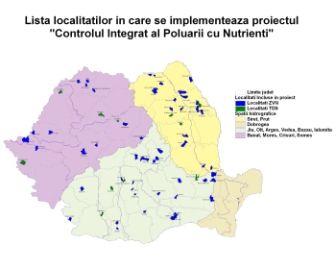 "Traseu seminarii locale – etapa a Va – Campania ""Controlul Integral al Poluarii cu nutrienti"""