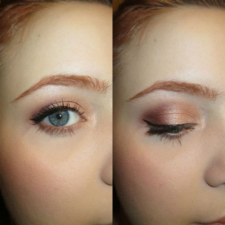 Makeup Tutorial For Redheads With Blue Eyes