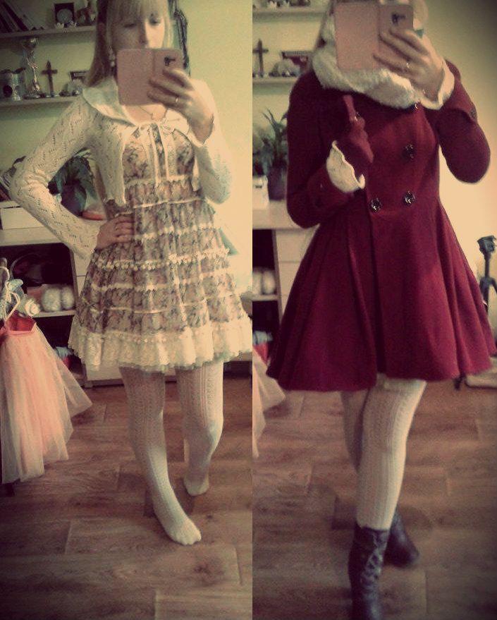 lookbook -pegasie #kawaii #girl #girly #korean #japanstyle #sweet #lovely #cute #outfit #ulzzang #inspiration #asian #kpop #fashion #dress #coat #dresscoat #dress #longhair #verylonghair #very #long #hair #longbraid #blondehair #blonde #high #knee #socks #highkneesocks #highsocks #tights #tighthigh