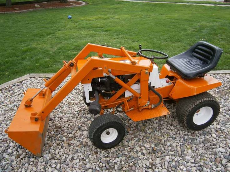 Used Garden Tractor Loaders : Best images about tractors on pinterest gardens old