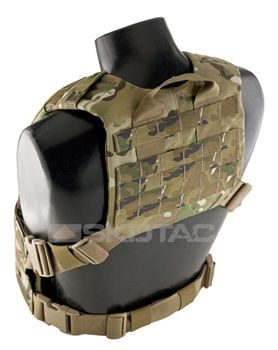 Attachment for the chest rig