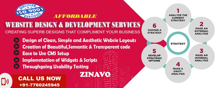 #Affordable #Website #Design and #Development Services in #Bangalore, India. Visit US: www.zinavo.com (or) 080-32323100