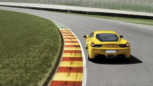 Stage de Pilotage #Ferrari 458 Italia Circuit Dijon Prenois 21 - Stage Auto - www.stage-auto.com