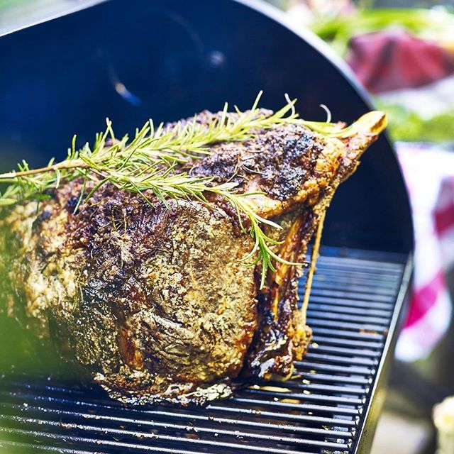 Roasted Horseradish-Crusted Prime Rib Recipe by Chef Tyler Florence | Traeger Wood Fired Grills
