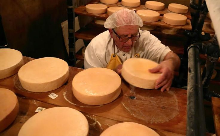 Meet the Cheesemaking Monk of Manitoba and his delicious Notre Dame Des Prairies cheese: http://bit.ly/1IyMgjf